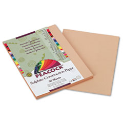 PACP6909 - Pacon® Peacock® Sulphite Construction Paper