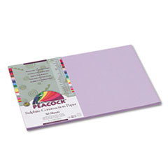 PACP7112 - Pacon® Peacock® Sulphite Construction Paper