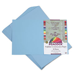 PACP7612 - Pacon® Peacock® Sulphite Construction Paper