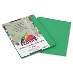 PACP8009 - Pacon® Peacock® Sulphite Construction Paper