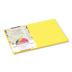 PACP8412 - Pacon® Peacock® Sulphite Construction Paper