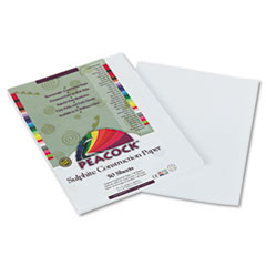 PACP8709 - Pacon® Peacock® Sulphite Construction Paper