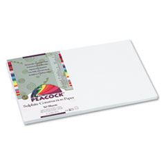 PACP8712 - Pacon® Peacock® Sulphite Construction Paper