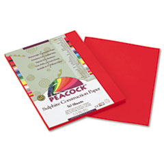 PACP9909 - Pacon® Peacock® Sulphite Construction Paper