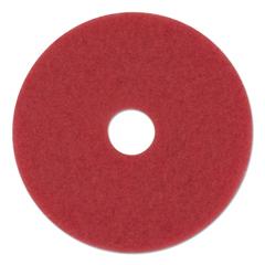 PAD4014RED - Standard 14-Inch Diameter Buffing Floor Pads