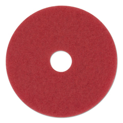 PAD4016RED - Standard 16-Inch Diameter Buffing Floor Pads
