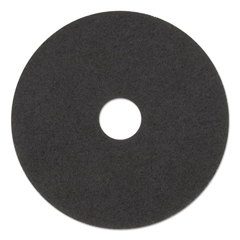 PAD4018BLA - Standard 18-Inch Diameter Stripping Floor Pads, Black