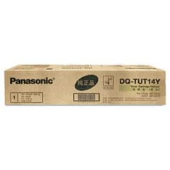 PANDQTUT14Y - Panasonic DQTUT14Y Toner, 14,000 Page-Yield, Yellow
