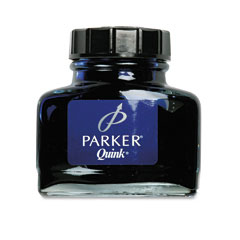 PAR3007100 - Parker® Super Quink Bottled Permanent Ink for Parker® Pens