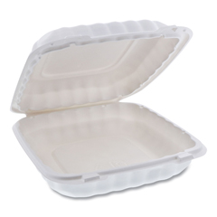 PCTYCN80901 - Pactiv EarthChoice® SmartLock® Microwavable Hinged Lid Containers