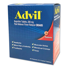 PFI015489 - Advil® Ibuprofen Tablets