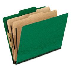 PFX1257GR - Pendaflex® Six-Section PressGuard® Colored Classification Folders