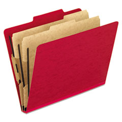 PFX1257SC - Pendaflex® Six-Section PressGuard® Colored Classification Folders