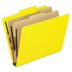 PFX1257Y - Pendaflex® Six-Section PressGuard® Colored Classification Folders