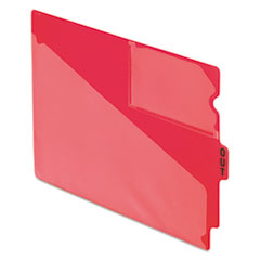 PFX13541 - Pendaflex® Colored Vinyl Outguides with Center Tab