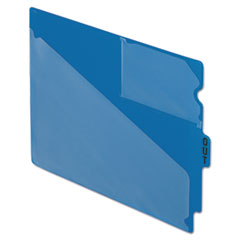 PFX13542 - Pendaflex® Colored Vinyl Outguides with Center Tab