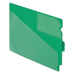 PFX13543 - Pendaflex® Colored Vinyl Outguides with Center Tab