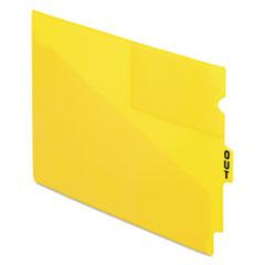 PFX13544 - Pendaflex® Colored Vinyl Outguides with Center Tab