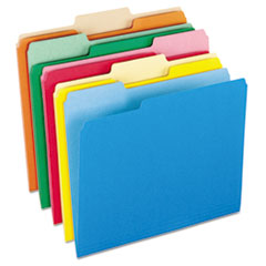 PFX15213ASST - Pendaflex® Colored File Folders