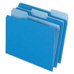 PFX15213BLU - Pendaflex® Colored File Folders