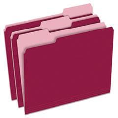 PFX15213BUR - Pendaflex® Colored File Folders