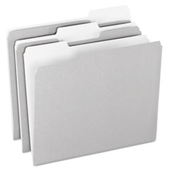 PFX15213GRA - Pendaflex® Colored File Folders
