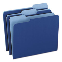 PFX15213NAV - Pendaflex® Colored File Folders