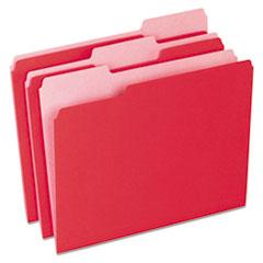 PFX15213RED - Pendaflex® Colored File Folders
