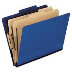 PFX2257BL - Pendaflex® Six-Section PressGuard® Colored Classification Folders