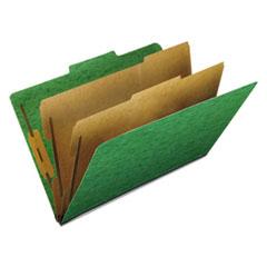 PFX2257GR - Pendaflex® Six-Section PressGuard® Colored Classification Folders