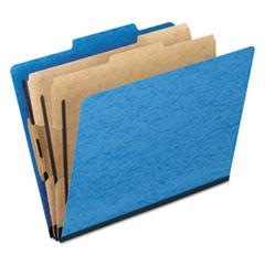 PFX2257LB - Pendaflex® Six-Section PressGuard® Colored Classification Folders