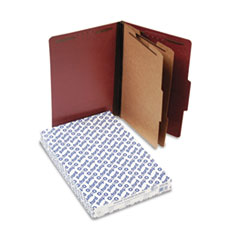 PFX2257R - Pendaflex® Four-, Six-, and Eight-Section Pressboard Classification Folders