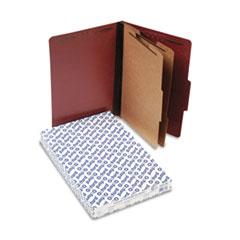 PFX2257R - Pendaflex® Four-, Six-, and Eight-Section Pressboard Classification Folders