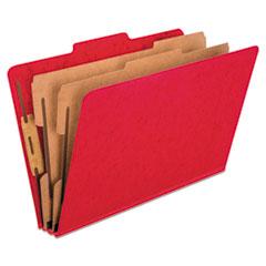 PFX2257SC - Pendaflex® Six-Section PressGuard® Colored Classification Folders