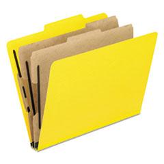 PFX2257Y - Pendaflex® Six-Section PressGuard® Colored Classification Folders