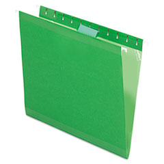 PFX415215BGR - Pendaflex® Colored Reinforced Hanging File Folders