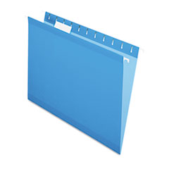 PFX415215BLU - Pendaflex® Colored Reinforced Hanging File Folders