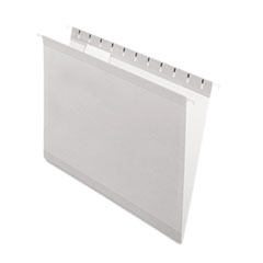 PFX415215GRA - Pendaflex® Colored Reinforced Hanging File Folders