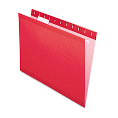 PFX415215RED - Pendaflex® Colored Reinforced Hanging File Folders
