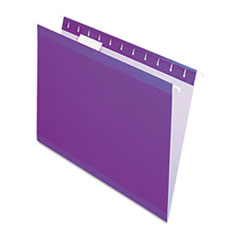 PFX415215VIO - Pendaflex® Colored Reinforced Hanging File Folders