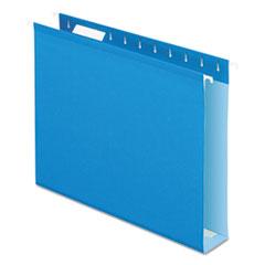 PFX4152X2BLU - Pendaflex® Extra Capacity Reinforced Hanging File Folders with Box Bottom