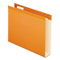 PFX4152X2ORA - Pendaflex® Extra Capacity Reinforced Hanging File Folders with Box Bottom
