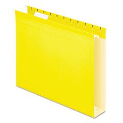 PFX4152X2YEL - Pendaflex® Extra Capacity Reinforced Hanging File Folders with Box Bottom