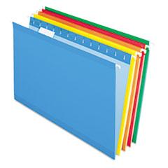 PFX415315ASST - Pendaflex® Colored Reinforced Hanging File Folders