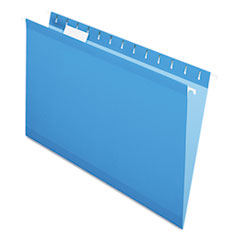 PFX415315BLU - Pendaflex® Colored Reinforced Hanging File Folders