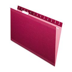 PFX415315BUR - Pendaflex® Colored Reinforced Hanging File Folders