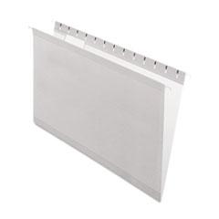 PFX415315GRA - Pendaflex® Colored Reinforced Hanging File Folders