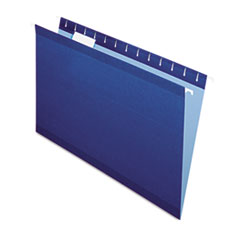 PFX415315NAV - Pendaflex® Colored Reinforced Hanging File Folders