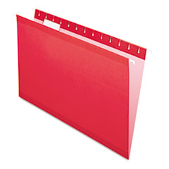 PFX415315RED - Pendaflex® Colored Reinforced Hanging File Folders
