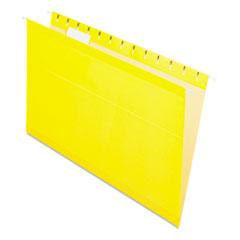 PFX415315YEL - Pendaflex® Colored Reinforced Hanging File Folders